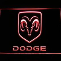 LED NEON LIGHT SIGN DODGE TRUCK CAR AUTO  - $29.99