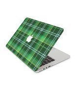 St. Patricks Day Green Plaid Skin 13 Inch Apple MacBook Pro without Reti... - £11.35 GBP