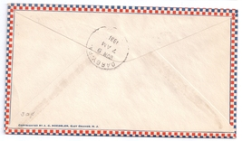 AM 11 First Flight Washington DC 1931 Airmail Cover FFC PM Heaps Signed image 2