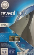 4 Bulbs GE Reveal LED Daylight 65W Equivalent Dimmable Indoor BR30 Floodlight - $59.88