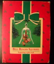 Hallmark Keepsake Christmas Ornament 1984 Bell Ringer Squirrel Original Box - $9.99
