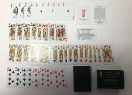 Vintage Pinochle Kem Plastic Playing Card Deck - Incomplete - $9.90