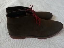 Cole Haan Paul Chukka Boot in Dark Brown Suede Men's Size 10 M - $59.00