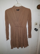 H&M womens camel colored dress xs - $10.21