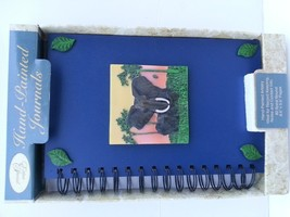 New Cool Hand Painted journals note book 3D elephant  - $8.59