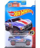 Hot Wheels - Toyota Off-Road Truck: HW Daredevils #7/10 - #152/250 (2016) *Blue* - $3.00