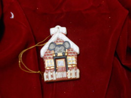 Ceramic Mouse Christmas Tree Ornament New Mouse... - $3.15