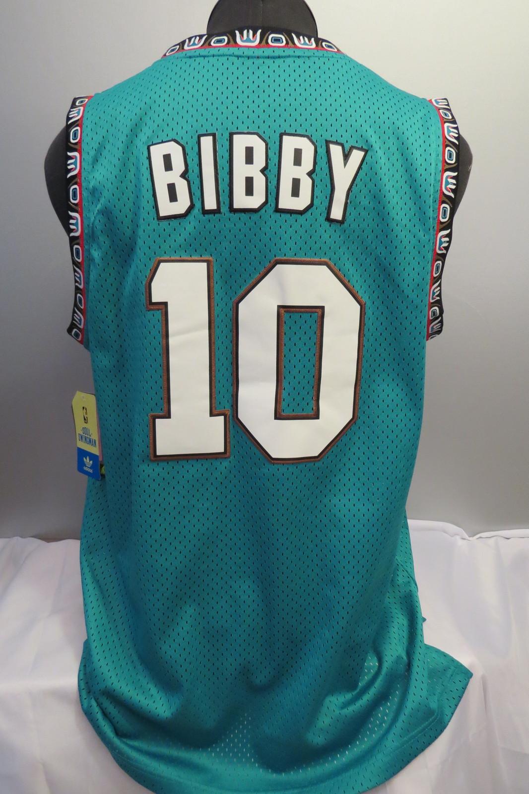 a249d663fcac Vancouver Grizzlies Jersey - Mike Bibby  10 - Adidas Swingman - Men s M (NWT