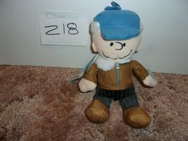 "PEANUTS A CHARLIE BROWN CHRISTMAS 10"" PLUSH MUSICAL Charlie Brown  DOLL NWT - $16.99"