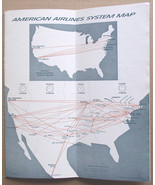American Airlines System Timetable February 12, 1967 Astrojets - $9.99