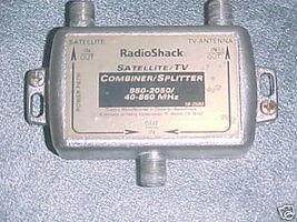 Radio Shack Satellite TV Signal Combiner Splitter - $14.98
