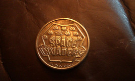 Vintage Rare Space Invaders game token from the 1982 World's Fair Video ... - $49.99