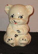 AMERICAN POTTERY CO APCO KITTY COOKIE JAR 1944 ... - $22.31