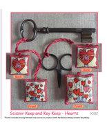 CLEARANCE Scissor Keeps and Key Keep Hearts kit... - $14.00