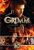Grimm fifth season five 5  dvd 2016  5 disc set    slip cover new free shipping thumb200