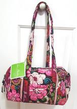Vera Bradley Mod Floral Pink Satchel Shoulder Bag NWT - £35.58 GBP
