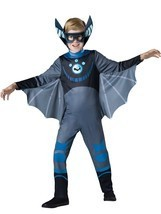 Incharacter Wild Kratts Bat Blue Standard Boys Kids Halloween Costume 14... - $28.99
