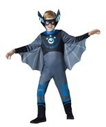 Incharacter Wild Kratts Bat Blue Standard Boys Kids Halloween Costume 14... - €24,65 EUR