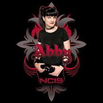 NCIS TV Series Abby, Gothic Photo Image and Name XLarge T-Shirt, NEW UNWORN - $14.50