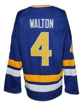 Custom Name # Minnesota Fighting Saints Retro Hockey Jersey New Walton Any Size image 2