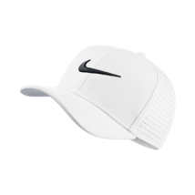 NEW! Nike Youth AeroBill Classic99 Athletic Golf Hat Adjustable-White - $44.43