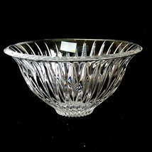 1 (One) MIKASA TIARA Cut Lead Crystal 6 in Bowl- DISCONTINUED - $22.99