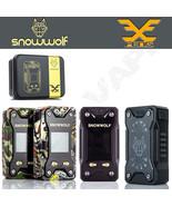 AUTHENTIC SNOWWOLF XFENG 230W TC Box Power Mod | Black Wood Camo White J... - $64.30+