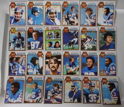 1979 Topps New York Giants Team Set of 24 Football Cards - $20.00