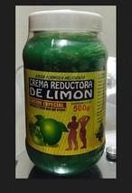 NEW SEALED CREMA REDUCTORA DE LIMON BOTE 18oz.  Lemon Body Wrap Cream - $18.76