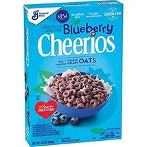 Blueberry Cheerios Cereal, Gluten Free Breakfast Cereal 10.9 oz 2 Pack 10.9 oz