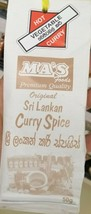 Ma's Kitchen Hot Sri Lankan Curry Spice Vegetable Hot Curry 50g - $6.68
