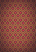 The Shining Poster 24x36 In Overlook Hotel Carpet Pattern Rare Oop (61 X 91 Cms) - $29.99