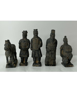 Chinese Terracotta Soldiers | Vintage | Set - $49.45
