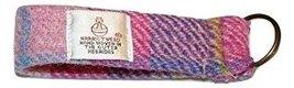 Harris Tweed Key Ring (Purple Heather Plaid) - $12.87