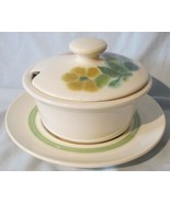 Franciscan Floral Green Rim Gravy Lid and Underplate - $29.59