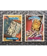 1986/1987 Topps Garbage Pail Kids Original Series Lot: Loose Leif & Melb... - $3.92