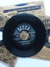 Vintage 1949 Decca 45rpm Twas the Night Before Christmas Record Set image 4