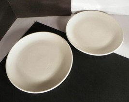 Arcoroc White Luncheon Plate (s) LOT OF 2 Made in USA - $13.81