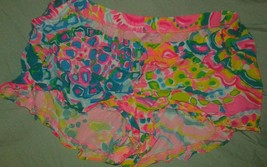 Lilly Pulitzer  Kya Shorts In Multi Come Out Of Your Shell Sz Medium - $41.83