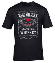 Wade Wilson Deadpool T-Shirt Black Men's Tee Shirt - $14.99+