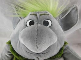 "Disney Store Frozen Rock Reversible Plush aproximately 12"" troll doll 9""' w Tag image 2"