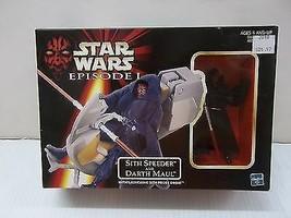 Star Wars Episode 1 Darth Maul Sith Attack Speeder figure Vehicle NIP Ha... - $7.78