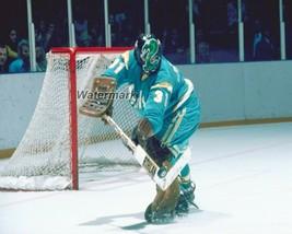 NHL 70's California Golden Seals Goalie Gary Simmons Color 8  X 10 Photo... - $5.99
