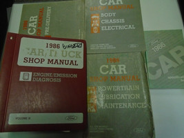 1986 Ford Crown Victoria Lincoln Town Car Grand Marquis Service Manual O... - $98.99