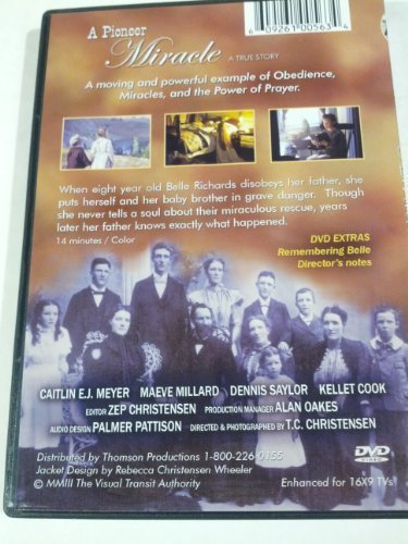 A Pioneer Miracle [DVD]