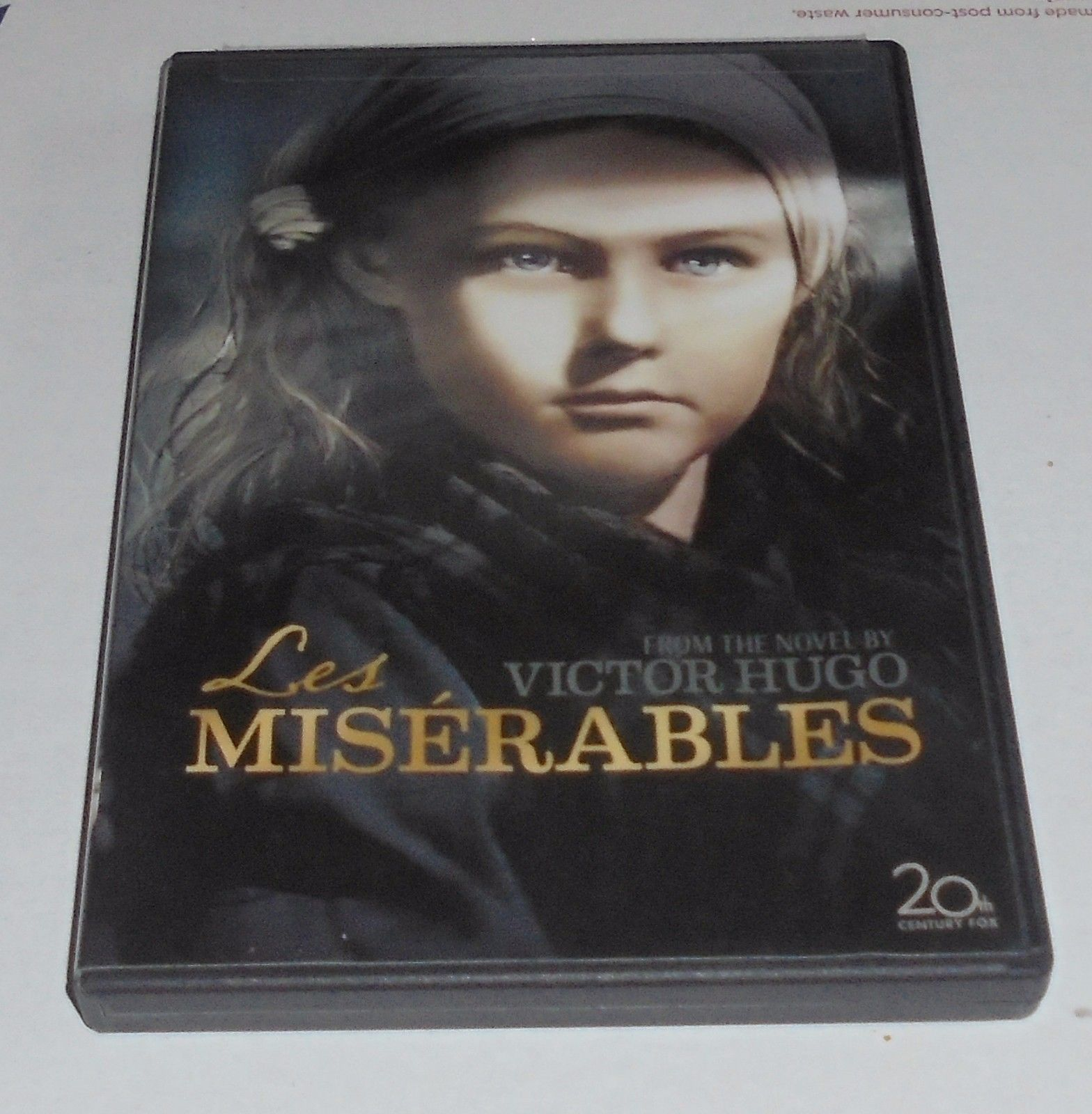 Primary image for Les Miserables (DVD, 2007) 1935 & 1952 Version Classic Movie Victor Hugo