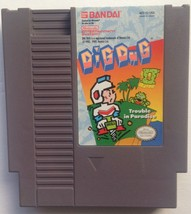Dig Dug II Trouble In Paradise Nintendo NES Video Game 1985 Cartridge Only - $18.68
