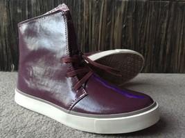 New Royal Elastics Dark Purple Vegan Patent Lea... - $55.37