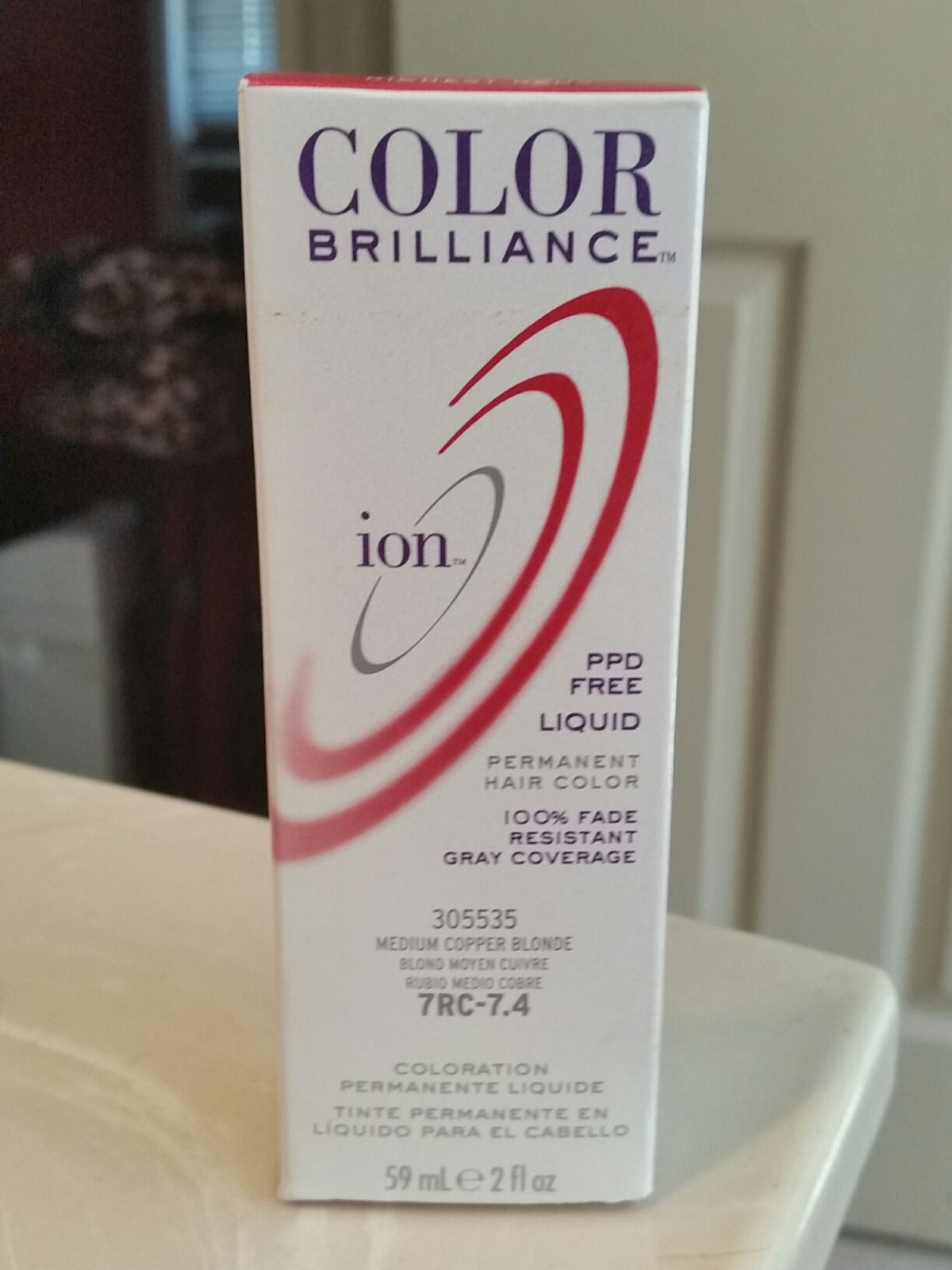 Liquid Ion Hair Color Permanent 7rc Medium And 21 Similar Items