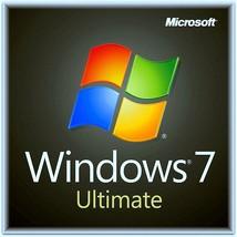 Microsoft Windows 7 Ultimate  32/64bit  Retail ... - $17.99